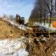 Капитальный ремонт канализационного коллектора  на улице Магистральной