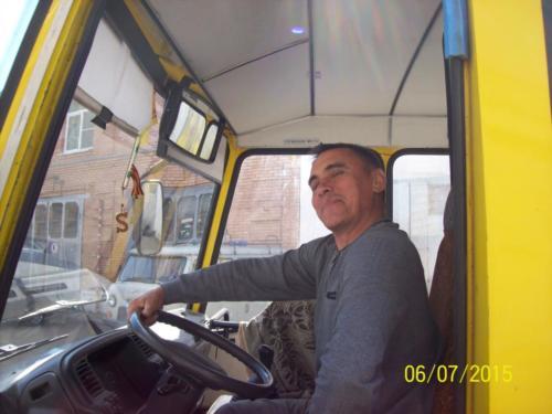 водитель автобуса Соловьев Валерий