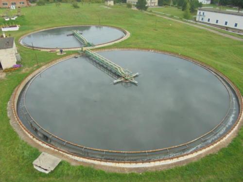 Коркинские очистные сооружения канализации